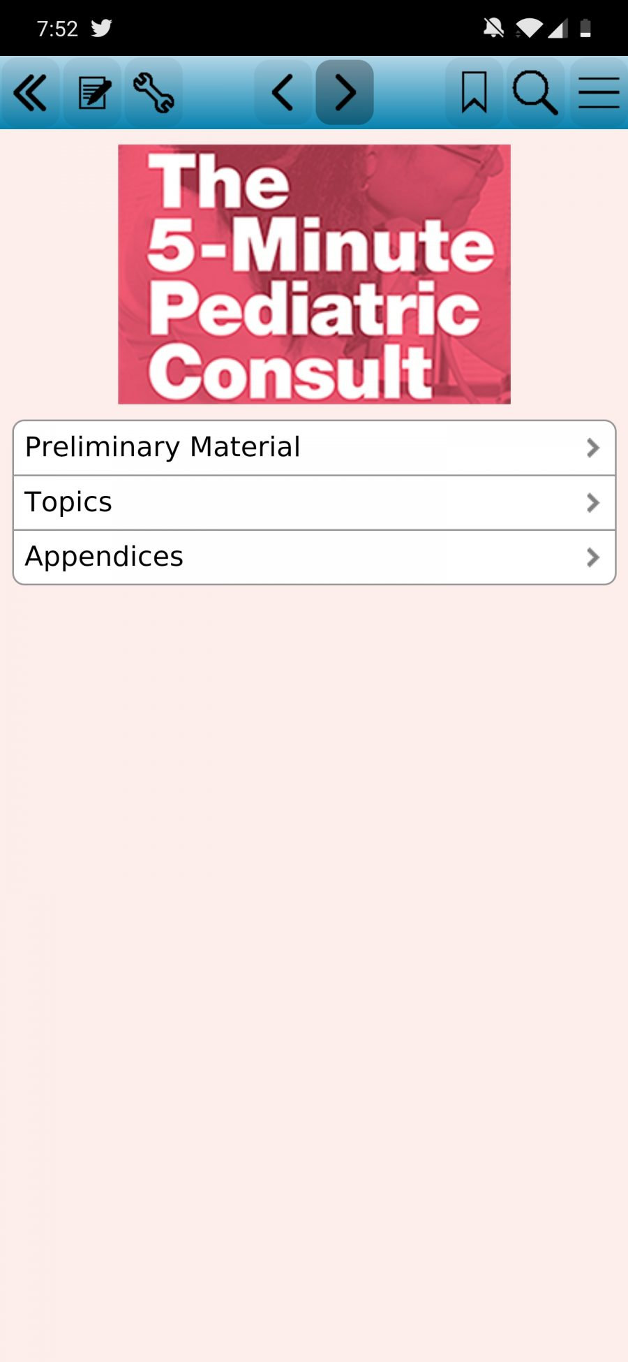 5-Minutes Pediatric Consult For Android